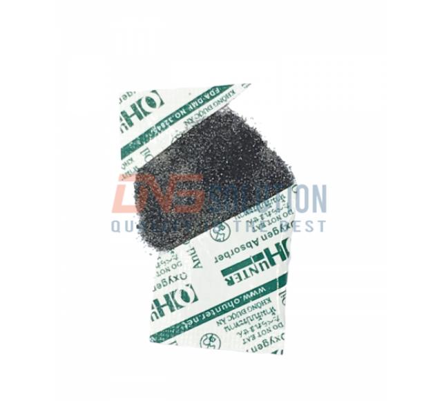Gói hút oxy Ohunter được sản xuất thành phần chính là bột sắt từ