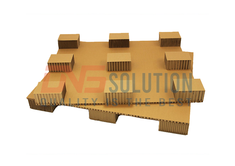 pallet giấy ở DNS Solution