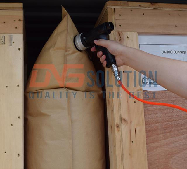 túi khí chèn hàng container Phoebese kraft 800x1200
