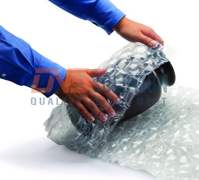 túi khí chèn lót thùng carton - đệm