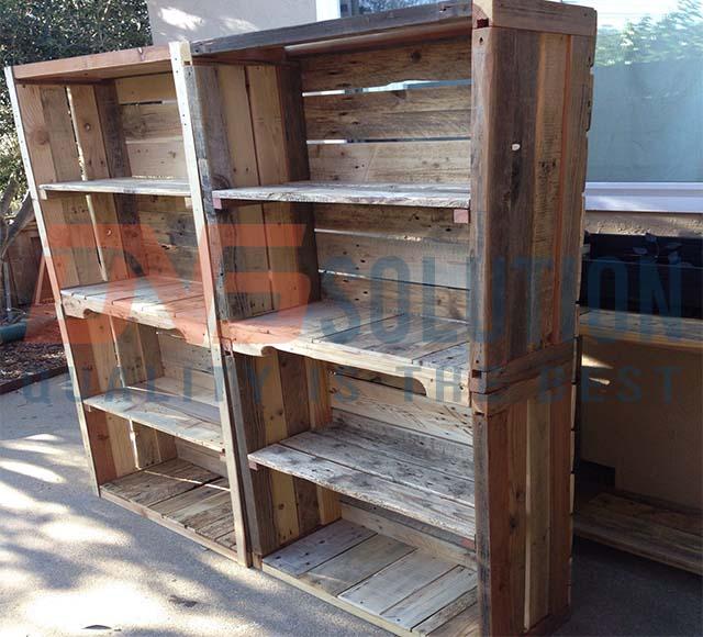 Pallet gỗ thông đã qua sử dụng