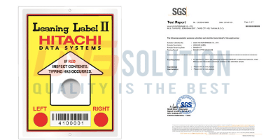 Tools for observation and control. RoHS-SGS Certification of Leaning Label
