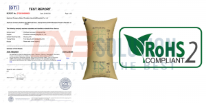 rohs 2 certification of Phoebese dunnage bag