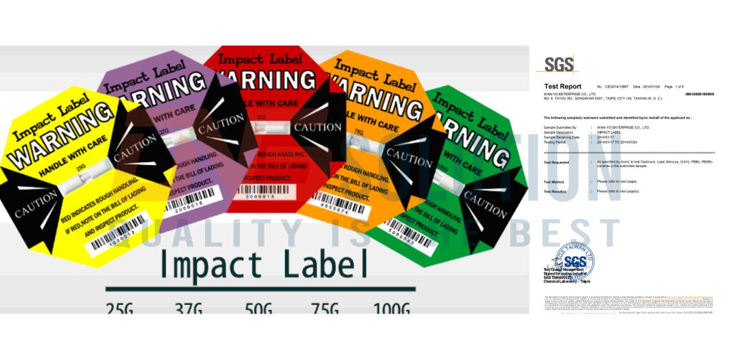 Chứng nhận RoHS của Impact Label