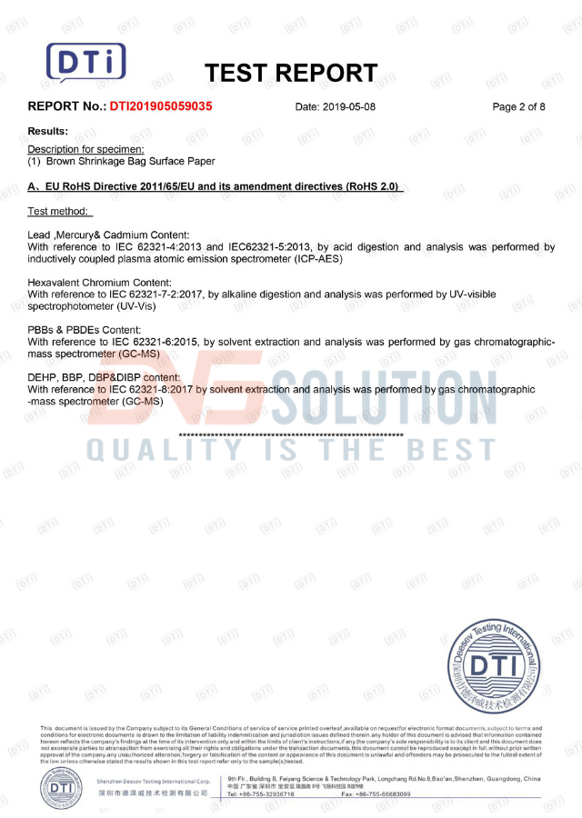 rohs 2 certification