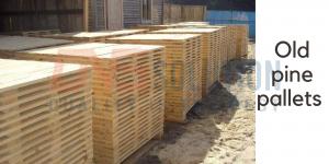 old pine pallets