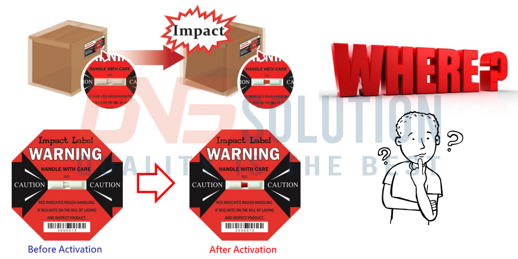 Where to buy shock detection labels