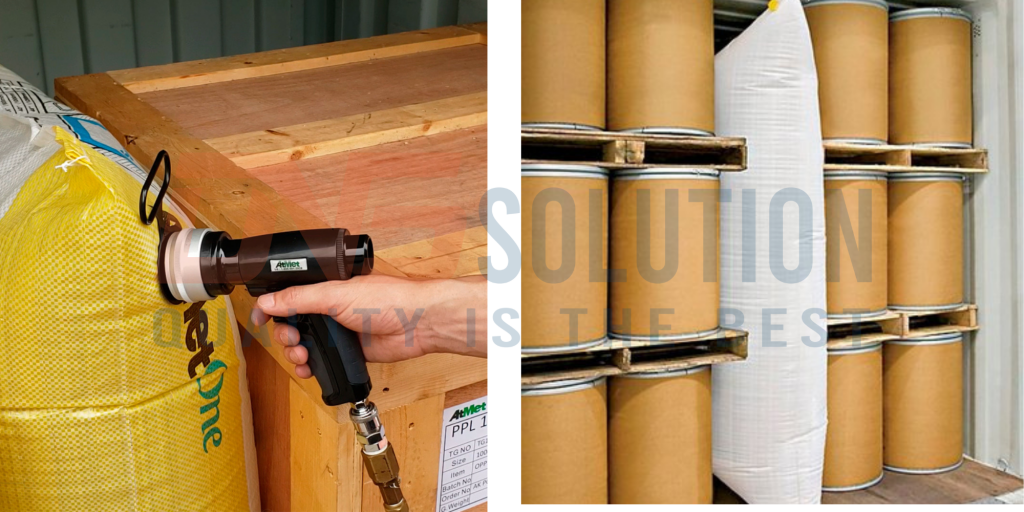 how to use dunnage air bags