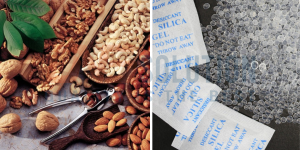desiccant packets in food