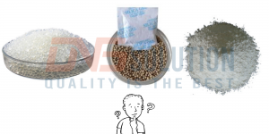 Cheap desiccant packets